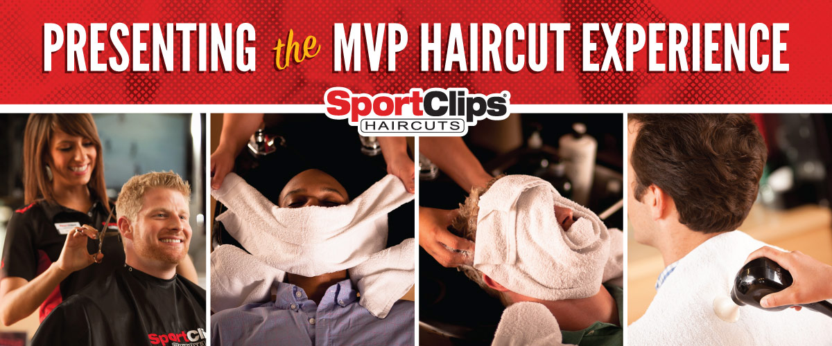 The Sport Clips Haircuts of Mount Pleasant MVP Haircut Experience